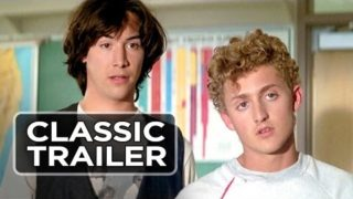 Bill & Ted's Excellent Adventure Official Trailer #1 – Keanu Reeves Movie (1989) HD