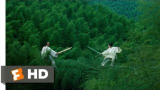 Crouching Tiger, Hidden Dragon (7/8) Movie CLIP – Bamboo Forest Fight (2000) HD