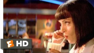Pulp Fiction (4/12) Movie CLIP – Uncomfortable Silence (1994) HD