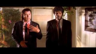 Pulp Fiction's Funniest Moments
