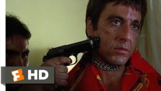 Scarface (1983 – Chainsaw Threat Scene (2/8) | Movieclips