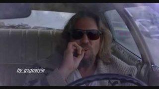 The Big Lebowski – Car Crash Scene (HD)