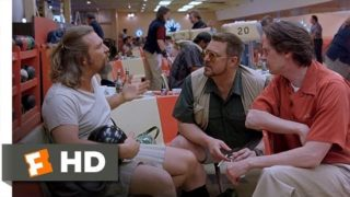 The Big Lebowski – He Peed On My Rug Scene (2/12) | Movieclips