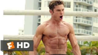 Baywatch (2017) – The Big Boy Competition Scene (2/10)   Movieclips