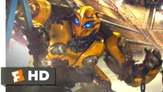 Bumblebee (2018) – Bumblebee vs. Dropkick Scene (9/10)   Movieclips