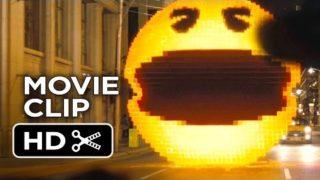 Pixels Movie CLIP – Pac-Man (2015) – Adam Sandler, Peter Dinklage Video Game Action Movie HD