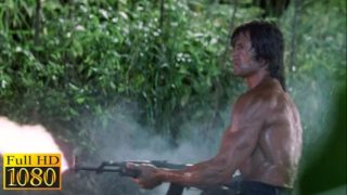 Rambo First Blood 2 (1985) – Escaping Scene (1080p) FULL HD