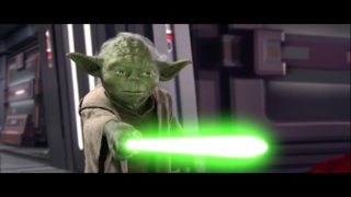 Star Wars Master Yoda VS Darth Sidious HD