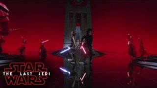 Star Wars: The Last Jedi – The Battle In Snokes Throne Room