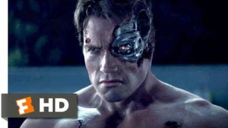 Terminator Genisys (2015) – Pops vs. the T-800 Scene (1/10) | Movieclips