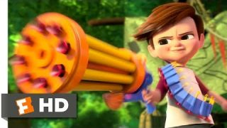 The Boss Baby (2017) – Tim vs. Baby Gang Scene (3/10) | Movieclips