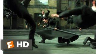 The Matrix Reloaded (2/6) Movie CLIP – The Burly Brawl (2003) HD