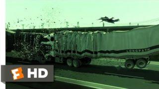 The Matrix Reloaded (5/6) Movie CLIP – Truck Stop (2003) HD