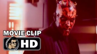 THE PHANTOM MENACE Movie Clip – Darth Maul Fight (1999) Star Wars Sci-Fi Action Movie HD