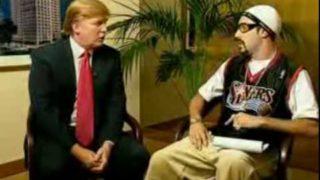 Ali G – Ice Cream Glove Business – Donald Trump