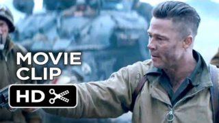 Fury Official Movie Clip – I Can't Do It (2014) – Brad Pitt War Movie HD
