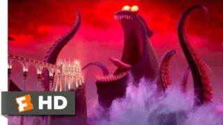 Hotel Transylvania 3 (2018) – Dracula vs. the Kraken Scene (9/10) | Movieclips