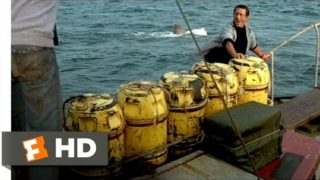 Jaws (1975) – Barrels Scene (5/10) | Movieclips