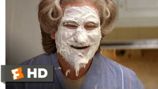 Mrs. Doubtfire (3/5) Movie CLIP – Mrs. Doubtfire's Cake Face (1993) HD