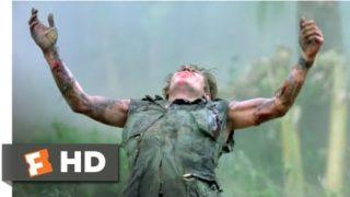 Platoon (1986) – The Death of Sgt. Elias Scene (7/10) | Movieclips