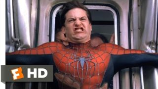 Spider-Man 2 – Stopping the Train Scene (7/10) | Movieclips