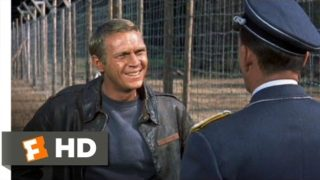 The Great Escape (1/11) Movie CLIP – To Cross the Wire Is Death (1963) HD