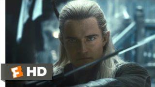 The Hobbit: The Desolation of Smaug – Legolas vs. the Orcs Scene (8/10) | Movieclips