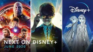 Next on Disney+   June 2020