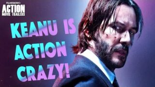 Keanu Reeves is Action Crazy – Clip Compilation
