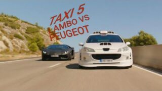 TAXI 5-LAMBO VS PEUGEOT 407 WITH MUSIC;GET LOW-DILLON FRANCIS DJ SNAKE