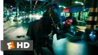 John Wick: Chapter 3 – Parabellum (2019) – Horse Stable Fight Scene (2/12)   Movieclips
