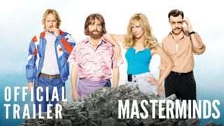 Masterminds – Official Trailer [HD]