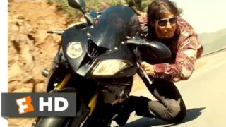 Mission: Impossible – Rogue Nation (2015) – Mountain Motorcycle Chase Scene (7/10) | Movieclips