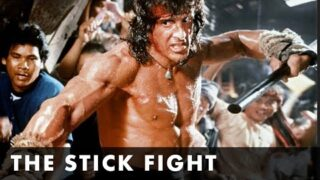 RAMBO III – The Stick Fight Clip – Starring Sylvester Stallone