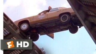 Smokey and the Bandit II (1980) – Jumping the Bridge Scene (5/10) | Movieclips