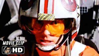 STAR WARS: A NEW HOPE Clip – Death Star Attack (1977) Mark Hamill