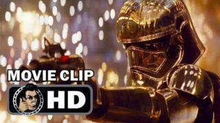 STAR WARS: THE LAST JEDI Movie Clip – Finn vs Phasma (2017) John Boyega Sci-Fi Movie HD
