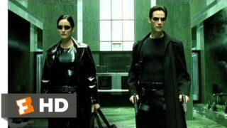 The Lobby Shootout – The Matrix (6/9) Movie CLIP (1999) HD