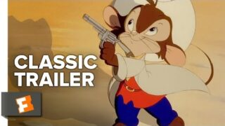 An American Tail / Fievel Goes West (1986/1991) Official Trailers Movie HD