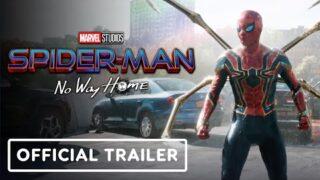 Spider-Man: No Way Home – Official Trailer (2021) Tom Holland, Benedict Cumberbatch, Zendaya